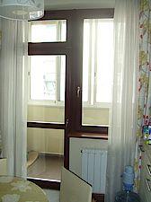 Балкон из квартиры