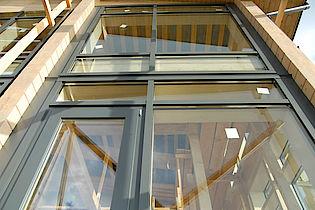 Окно в фасадке