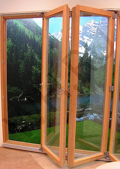складная дверь гармошка деревянная купить раздвижную