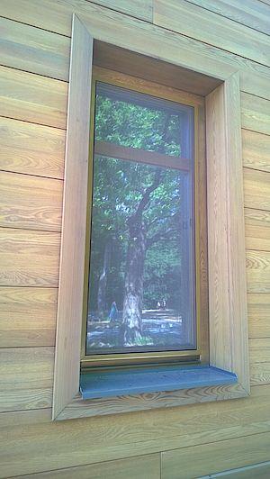Деревянные откосы для окон